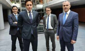 Juan Hernando, Lorenzo Casaus, Enric Galí i Oriol Taulats.