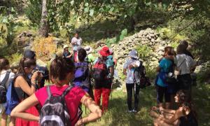 Una activitat estival organitzada a la Vall del Madriu.