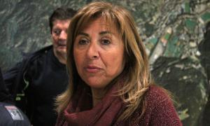 La cònsol major d'Andorra la Vella, Conxita Marsol.