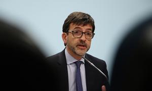 El ministre portaveu Jordi Cinca.