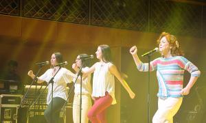 Un moment del concert de Dàmaris Gelabert a Ordino.