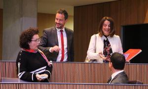Els consellers socialdemòcrates i liberals de la darrera legislatura.