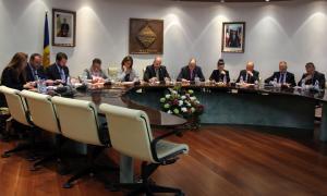 Sessió extrahordinària del consell de comú d'Encamp, aquest dijous.