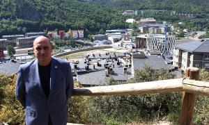L'expert del sector immobiliari, Jordi Ribó, recentment nomenat vicepresident de Fiabci Internacional.