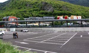 L'aparcament Estació Central el dia de la inauguració el maig del 2018.