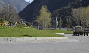 La rotonda de la Margineda.