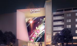 Fotomuntatge del casino de Jocs.