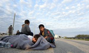 Refugiats sirians.