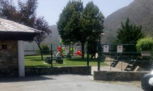 El parc infantil del Prat Gran de Sant Julià de Lòria.