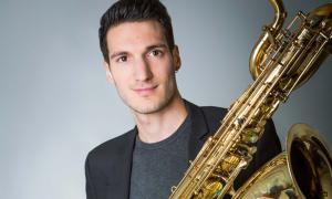 El saxofonista Maxime Bazerque.