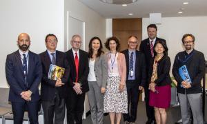 La trobada de la delegació andorrana a les Nacions Unides.