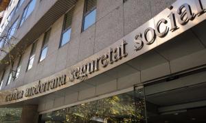 La seu de la Caixa Andorrana de Seguretat Social.