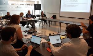 Darrera reunió del projecte celebrada a Reykjavik el 21 de juny.