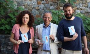 Irina Robles, Salomó Benchluch i Juanma Casero, aquest dijous.