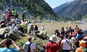 Benedicció del bestiar a la vall de Rialb.