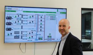 El gerent de FEDA Ecoterm, Jordi Travé.