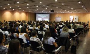 Més de 250 professionals de l'FPNSM han assistit a la conferència del catedràtic Miguel Ángel Verdugo.