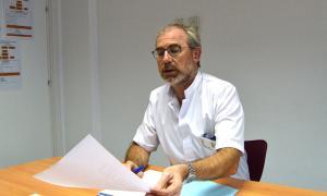 El cap d'Urgències, Marcos Gutiérrez.
