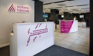 Oficina comercial d'Andorra Telecom.