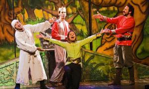 Una imatge de l'espectacle 'El mag Merlí'.