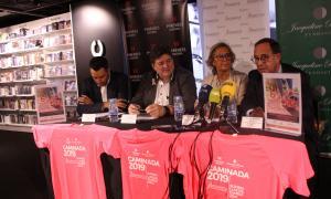 Presentació de la 6a edició de la Caminada contra el càncer.
