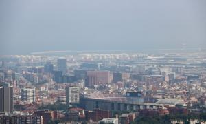 La ciutat de Barcelona.