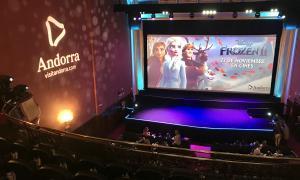 Vista general del cinema on van tenir lloc l'estrena.