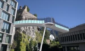 Simulació de la futura passarel·la.