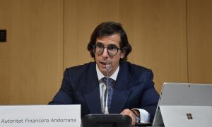 El director general de l'Autoritat Financera Andorrana (AFA), Ramón López.
