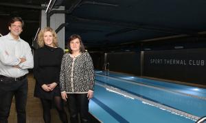 La piscina de 25 metres, inaugurada