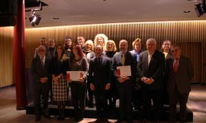 Els guardonats dels premis internacionals Ramon Llull