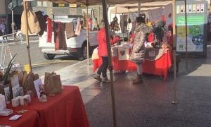 El mercat de Nadal celebrat l'any passat.