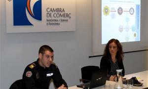 La Policia ha impartit, aquest dimecres, un curs sobre falsificació i detecció de moneda falsa.