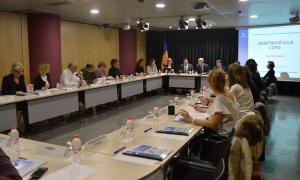 Una reunió del consell nacional de discapacitat.