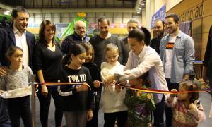 Laura Mas inaugura el Saló de la Infància i la Joventut del Pas de la Casa.