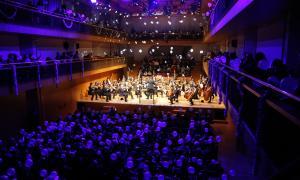 El tradicional Concert de Cap d'Any a l'Auditori Nacional.