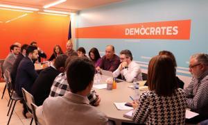 La darrera reunió de l'executiva de Demòcrates.