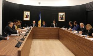 La darrera sessió ordinària del consell de comú d'Escaldes-Engordany.