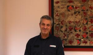 El director general de Creu Roja, Jordi Fernández.