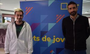 Joan Toribio, president del Fòrum de la Joventut d'Andorra i Daniel Osiàs, director de projectes i consultoria de la Fundació Marianao.