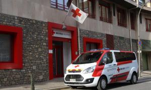 Les instal·lacions de la Creu Roja Andorrana.