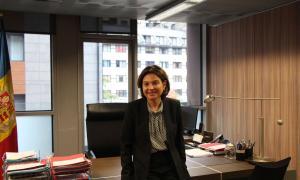La ministra de Turisme, Verònica Canals, en una imatge d'arxiu.