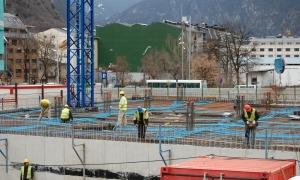 El sector de la construcció fa gairebé la totalitat de la despesa al país.
