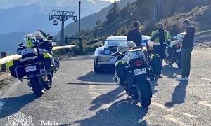 Els controls que la policia està fent a les carreteres secundàries.