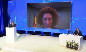 La ministra Ubach ha intervingut aquest divendres de manera telemàtica en la reunió de l'ONU.