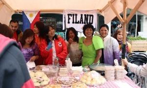 Una de les paradetes participants en la mostra gastronòmica de la 9a edició.