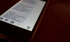 Un dels mòbils que ha rebut fins a 12 vegades el mateix missatge d'Actua Tech.