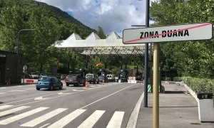 La frontera hispanoandorrana.