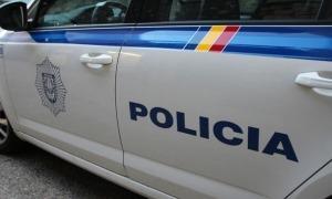 Un vehicle de la policia.