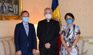 Vives, Espot i Suñé tracten la feina feta durant la crisi sanitària